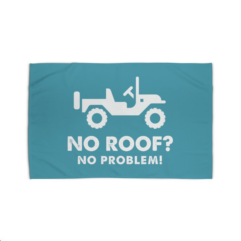 No Roof? No Problem! Home Rug by JeepVIPClub's Artist Shop