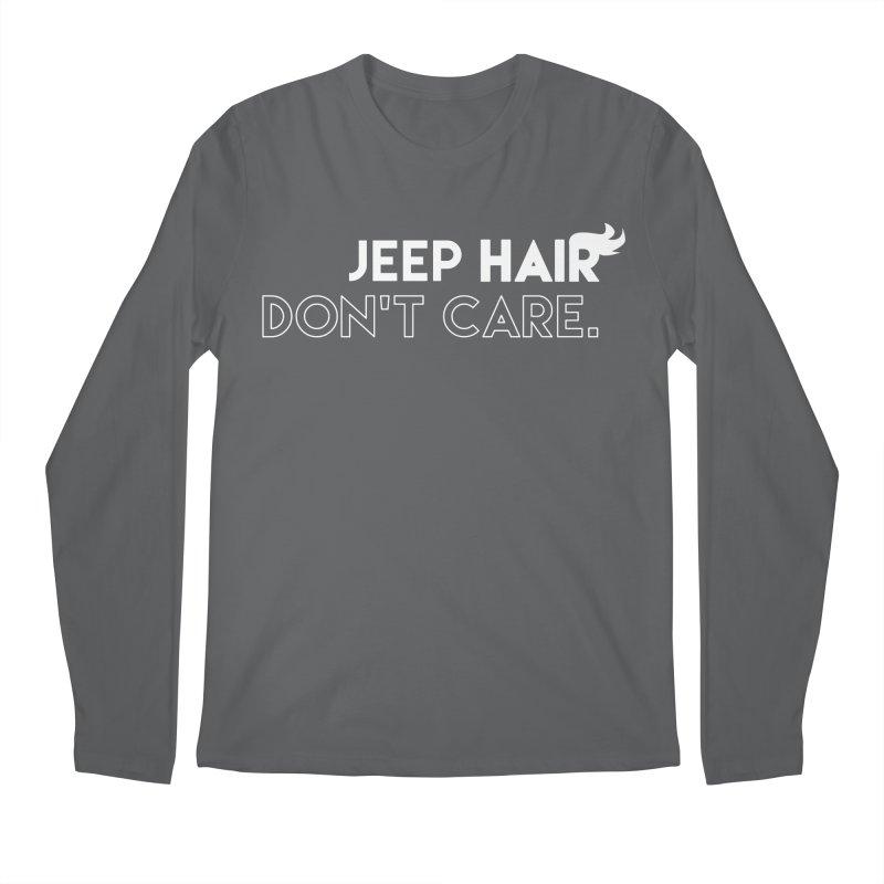 Jeep Hair Don't Care. Men's Regular Longsleeve T-Shirt by JeepVIPClub's Artist Shop