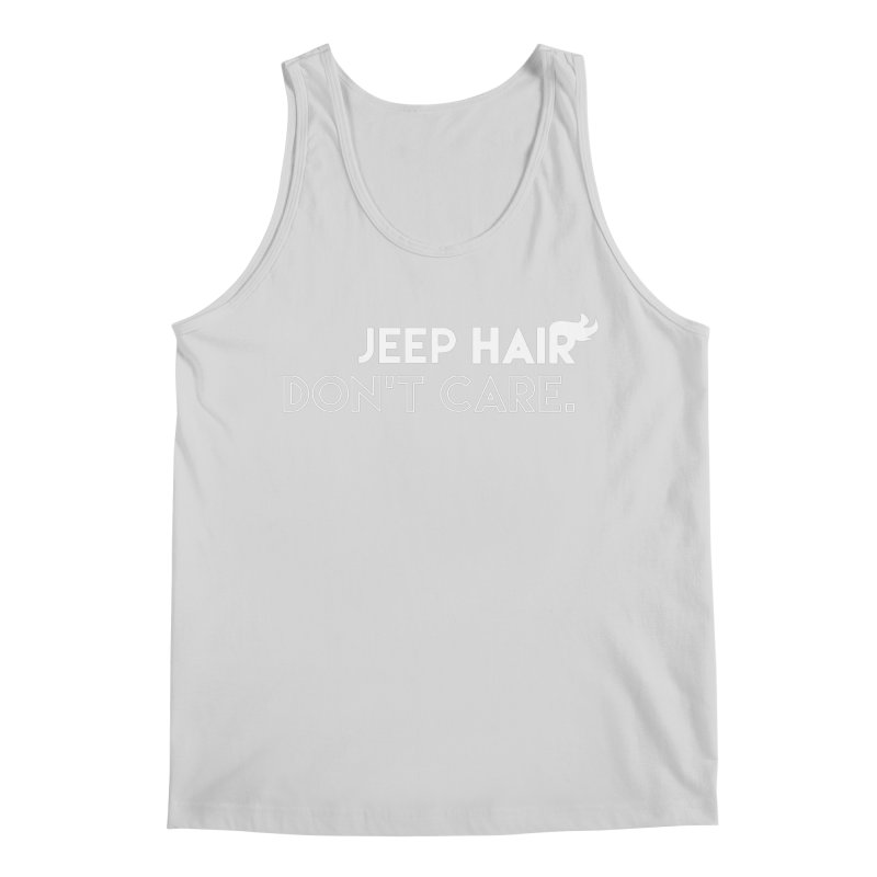 Jeep Hair Don't Care. Men's Regular Tank by JeepVIPClub's Artist Shop