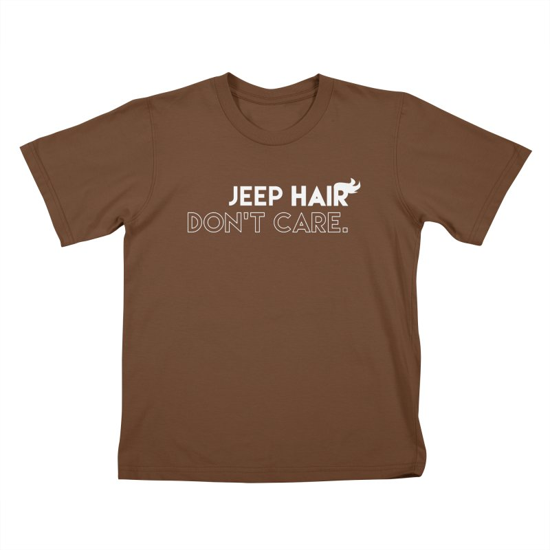 Jeep Hair Don't Care. Kids T-Shirt by JeepVIPClub's Artist Shop