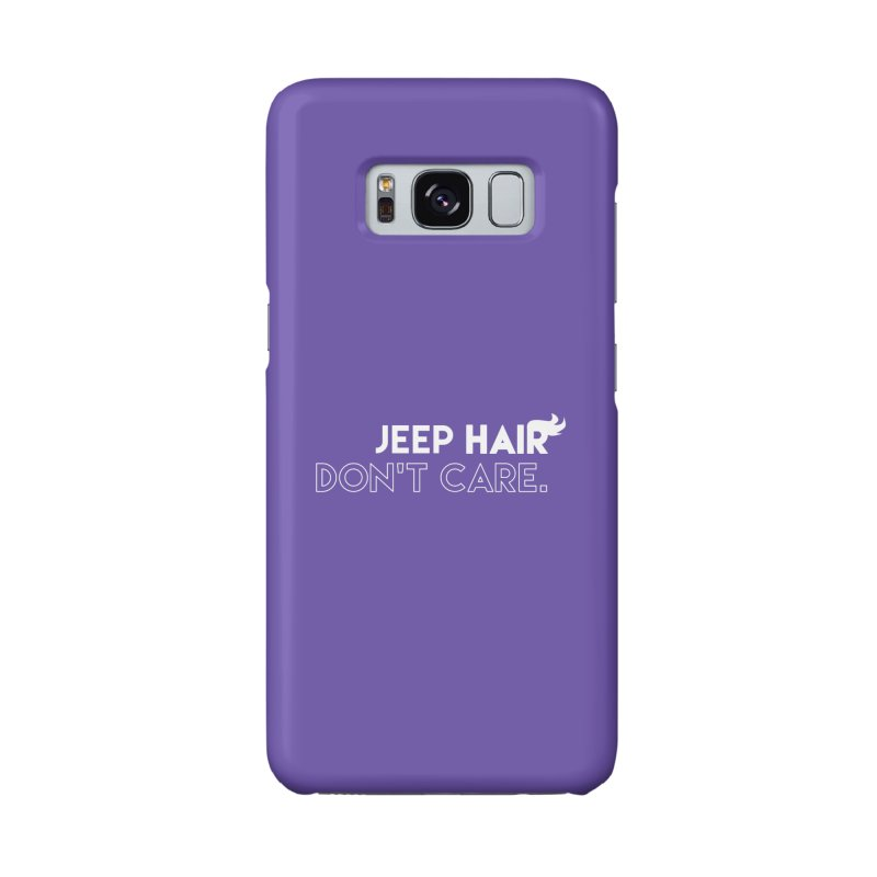 Jeep Hair Don't Care. Accessories Phone Case by JeepVIPClub's Artist Shop
