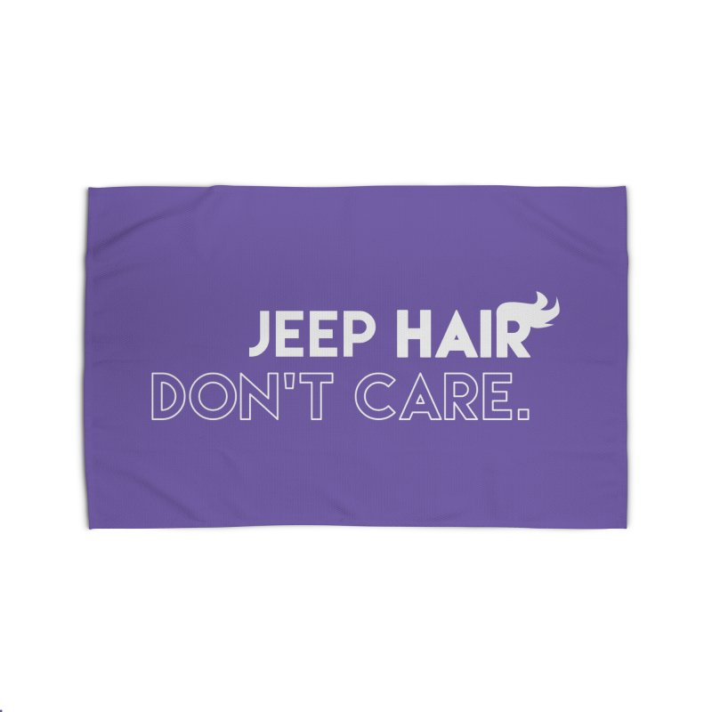 Jeep Hair Don't Care. Home Rug by JeepVIPClub's Artist Shop