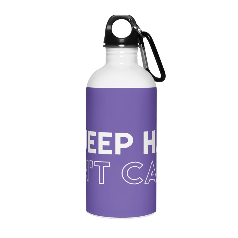 Jeep Hair Don't Care. Accessories Water Bottle by JeepVIPClub's Artist Shop
