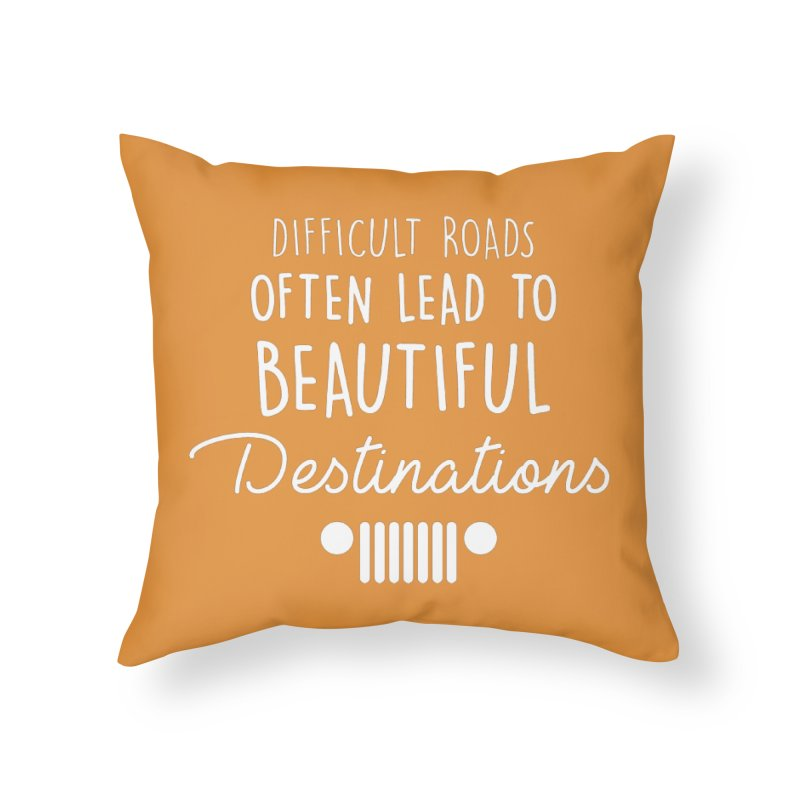 Beautiful Destinations Home Throw Pillow by JeepVIPClub's Artist Shop