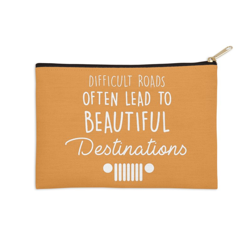 Beautiful Destinations Accessories Zip Pouch by JeepVIPClub's Artist Shop