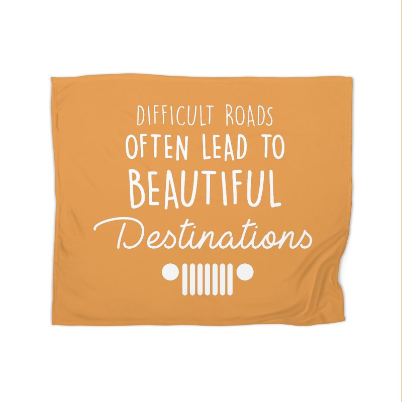 Beautiful Destinations Home Fleece Blanket Blanket by JeepVIPClub's Artist Shop