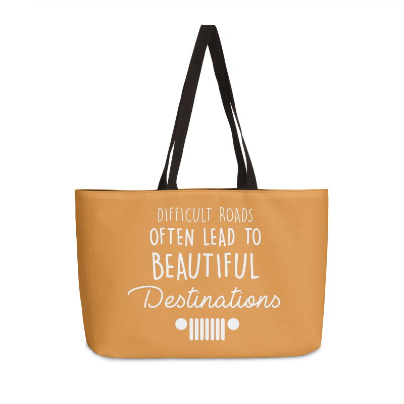 Beautiful Destinations Accessories Weekender Bag Bag by JeepVIPClub's Artist Shop
