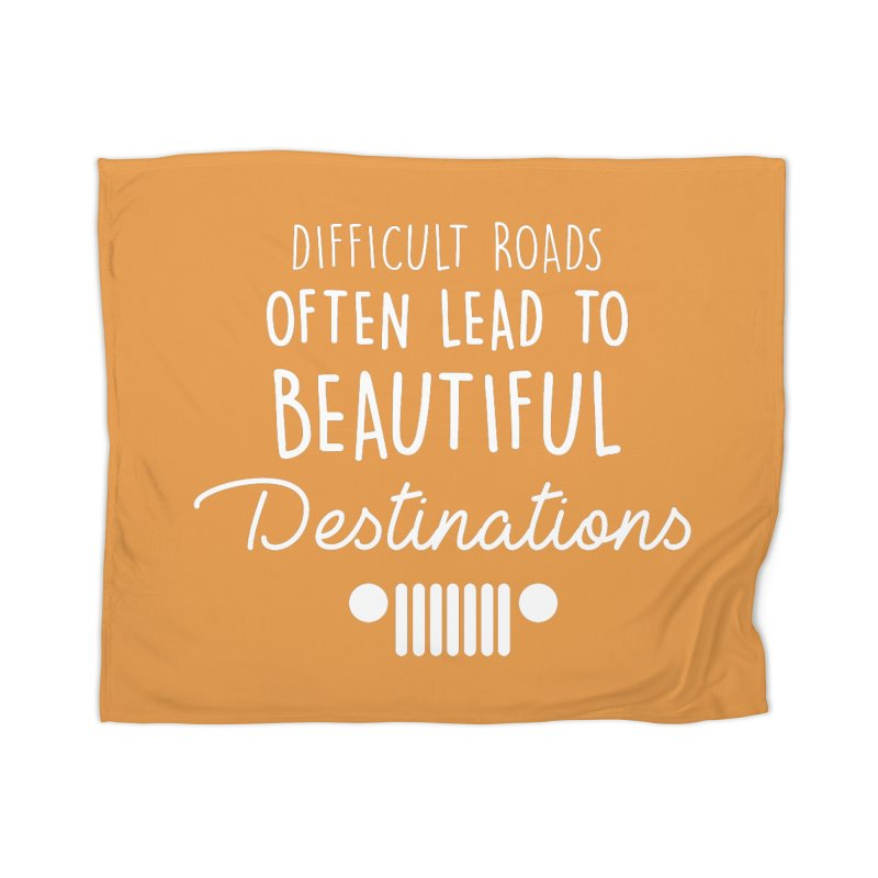 Beautiful Destinations Home Blanket by JeepVIPClub's Artist Shop