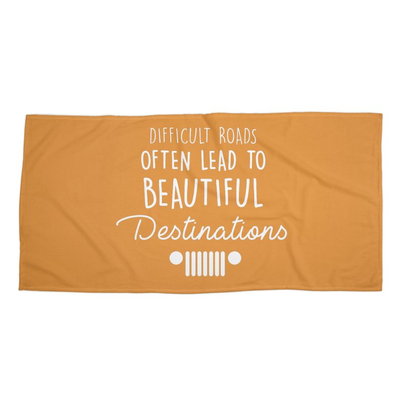 Beautiful Destinations Accessories Beach Towel by JeepVIPClub's Artist Shop