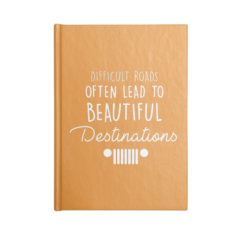 Beautiful Destinations Accessories Lined Journal Notebook by JeepVIPClub's Artist Shop