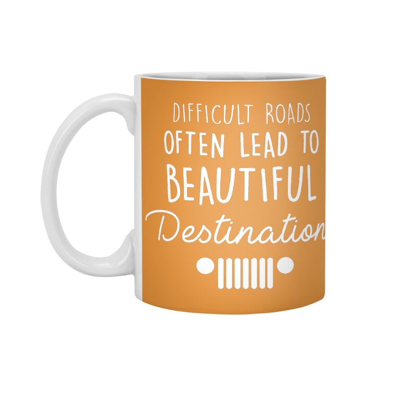 Beautiful Destinations Accessories Standard Mug by JeepVIPClub's Artist Shop