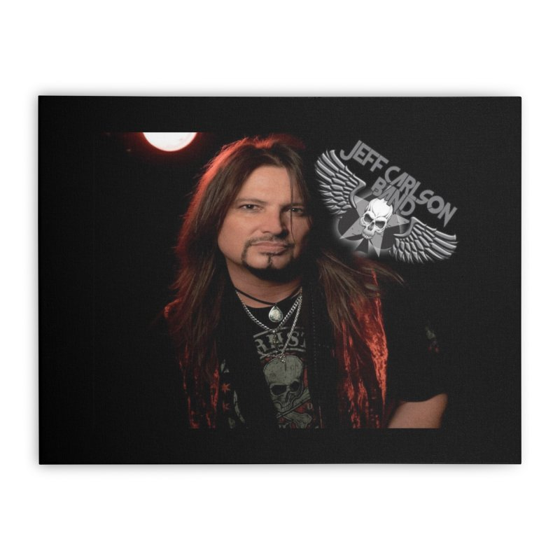 Screamin' Inside Home Stretched Canvas by JeffCarlsonBand's Artist Shop
