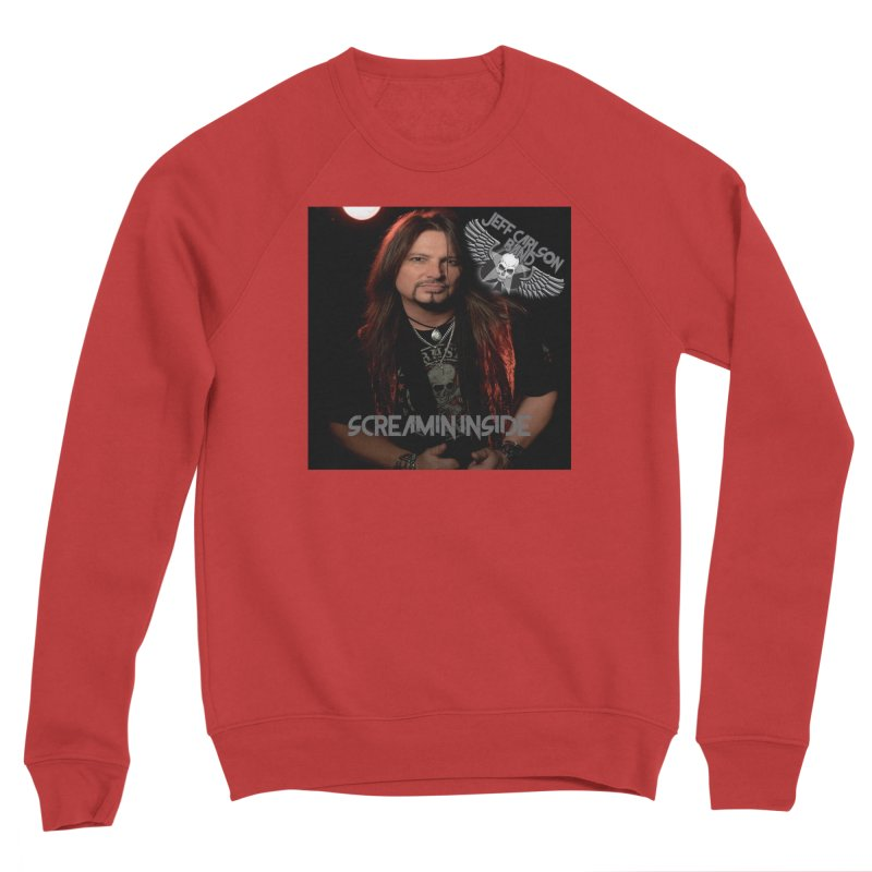 Screamin' Inside Women's Sponge Fleece Sweatshirt by JeffCarlsonBand's Artist Shop