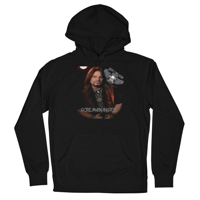 Screamin' Inside Women's French Terry Pullover Hoody by JeffCarlsonBand's Artist Shop
