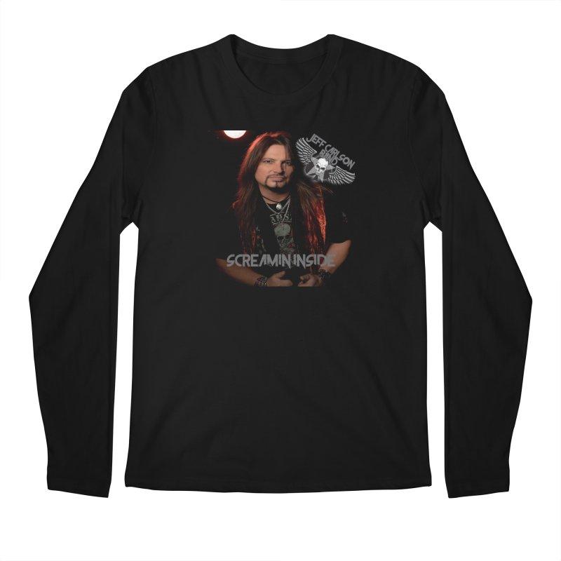 Screamin' Inside Men's Regular Longsleeve T-Shirt by JeffCarlsonBand's Artist Shop