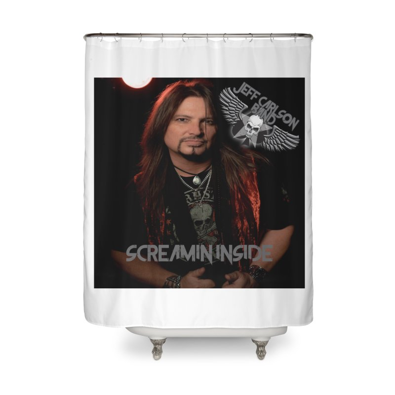 Screamin' Inside Home Shower Curtain by JeffCarlsonBand's Artist Shop