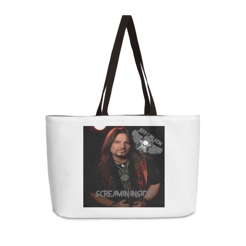 Screamin' Inside Accessories Weekender Bag Bag by JeffCarlsonBand's Artist Shop