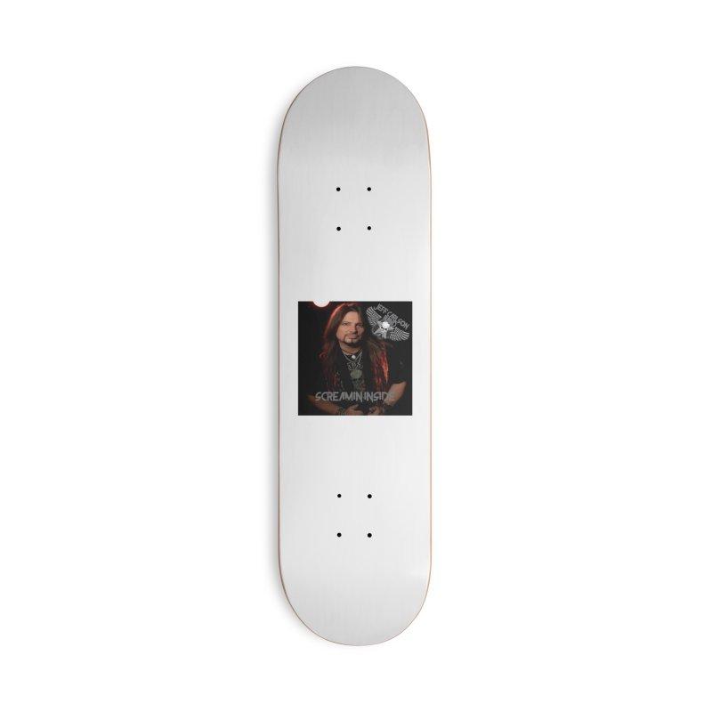 Screamin' Inside Accessories Deck Only Skateboard by JeffCarlsonBand's Artist Shop