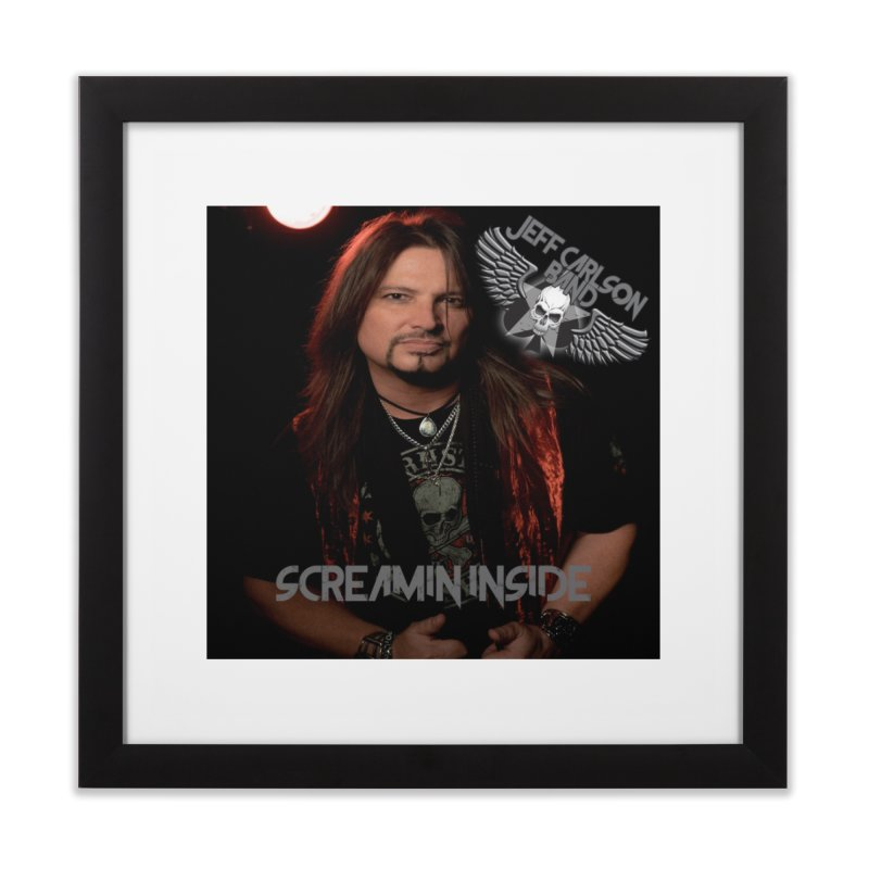 Screamin' Inside Home Framed Fine Art Print by JeffCarlsonBand's Artist Shop