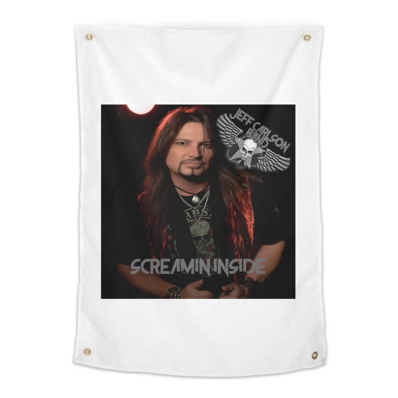Screamin' Inside Home Tapestry by JeffCarlsonBand's Artist Shop