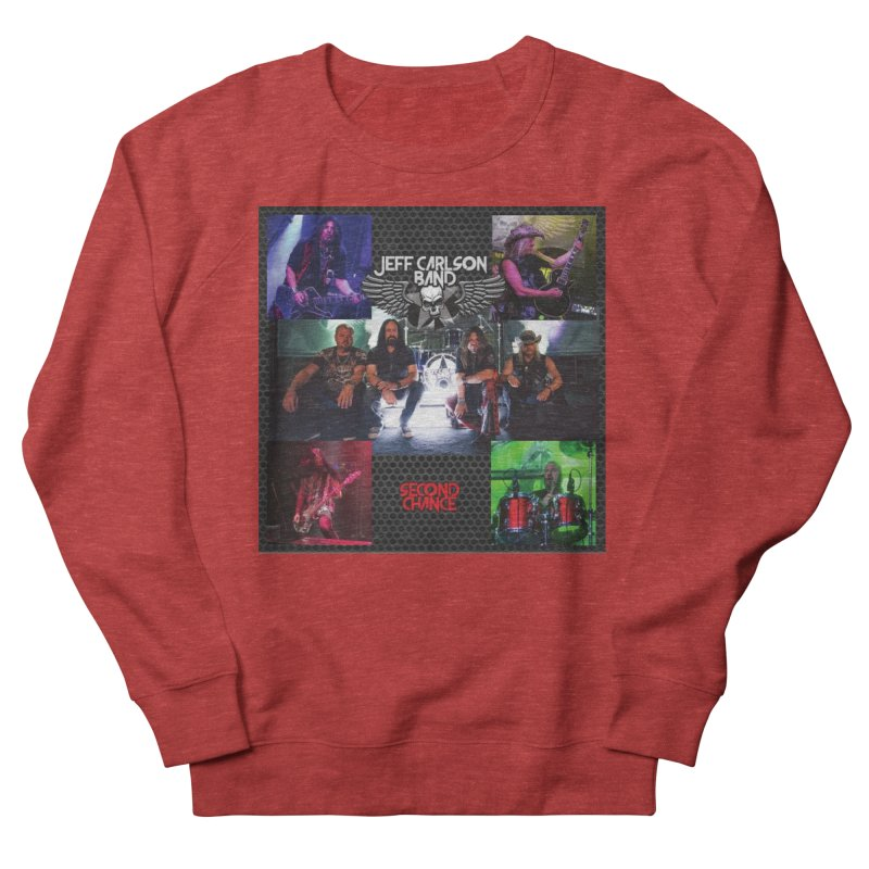 Second Chance Men's French Terry Sweatshirt by JeffCarlsonBand's Artist Shop
