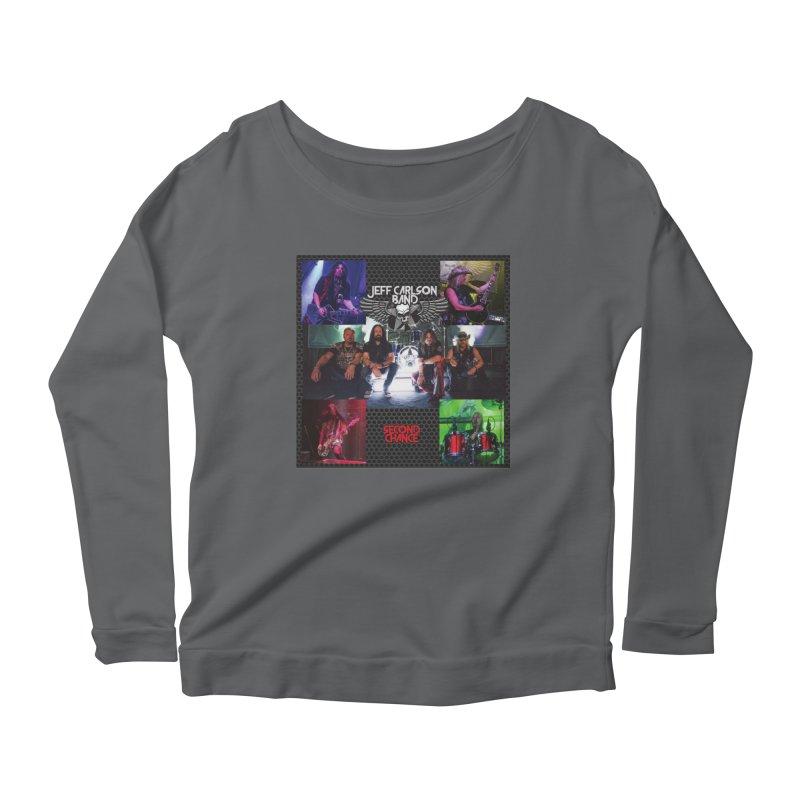 Second Chance Women's Scoop Neck Longsleeve T-Shirt by JeffCarlsonBand's Artist Shop