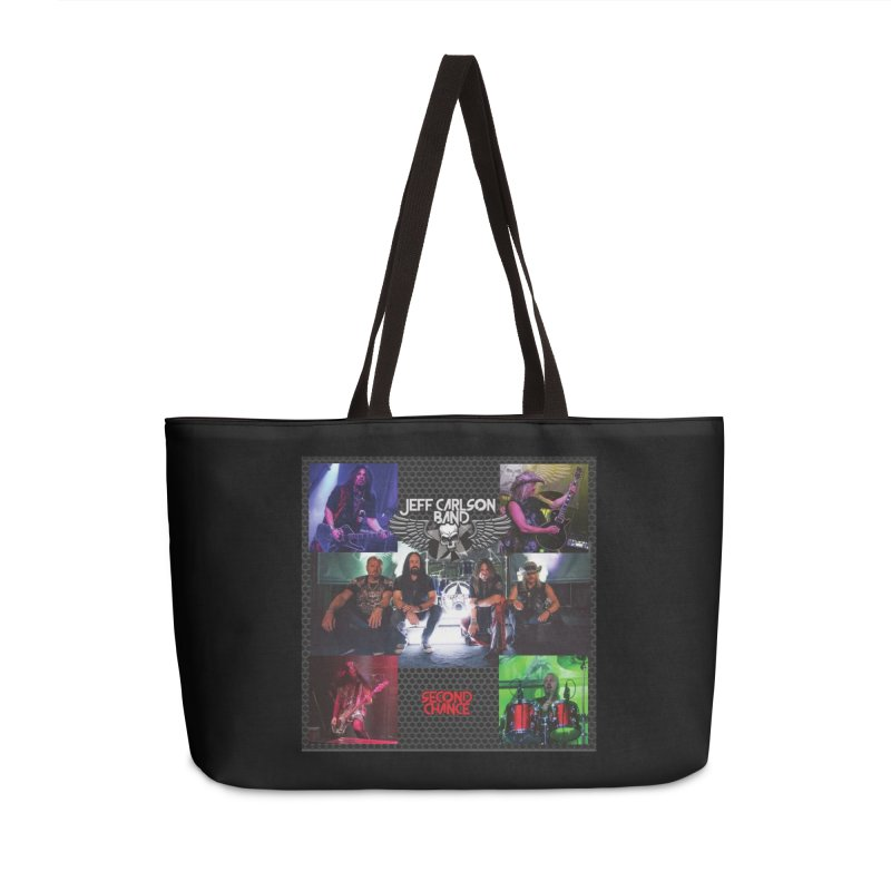 Second Chance Accessories Weekender Bag Bag by JeffCarlsonBand's Artist Shop
