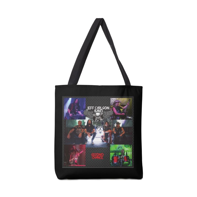 Second Chance Accessories Tote Bag Bag by JeffCarlsonBand's Artist Shop