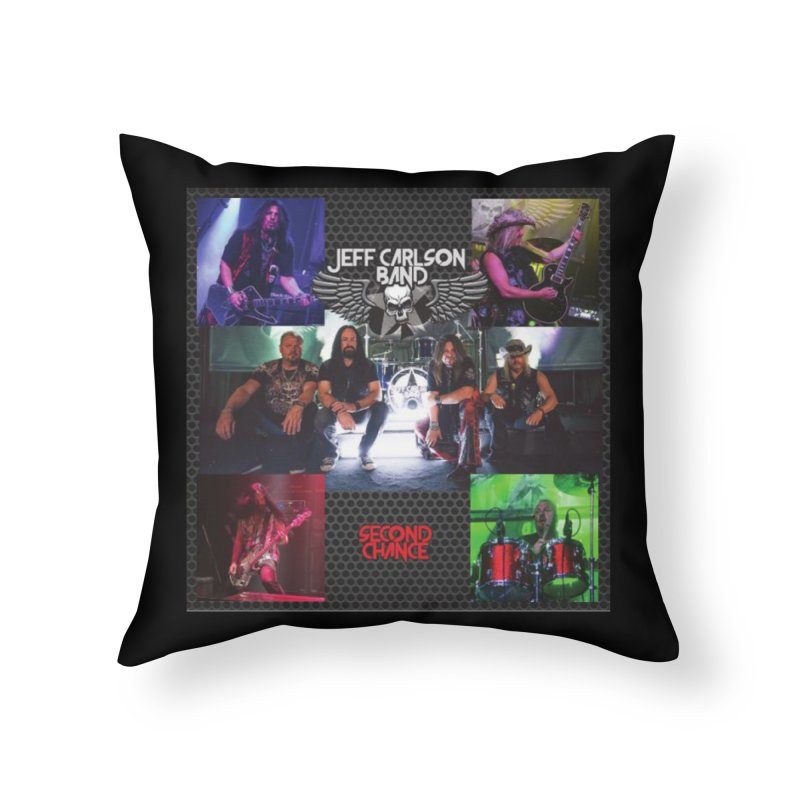 Second Chance Home Throw Pillow by JeffCarlsonBand's Artist Shop