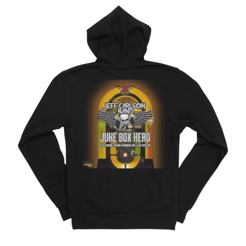 Juke Box Hero Men's Zip-Up Hoody by JeffCarlsonBand's Artist Shop