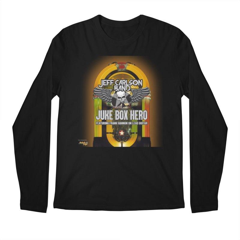 Juke Box Hero Men's Longsleeve T-Shirt by JeffCarlsonBand's Artist Shop