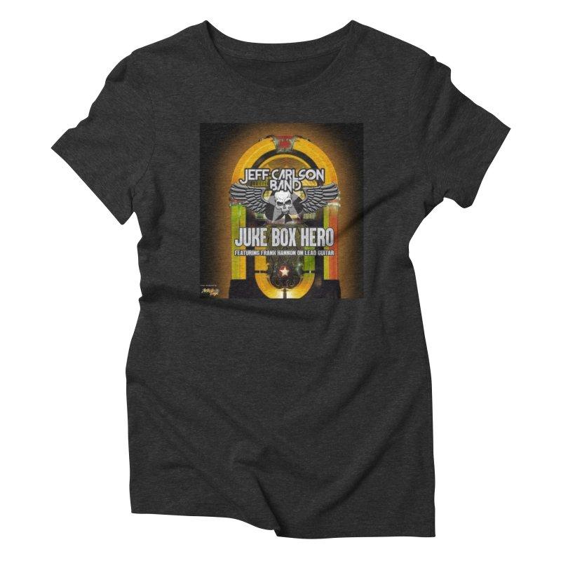 Juke Box Hero Women's T-Shirt by JeffCarlsonBand's Artist Shop