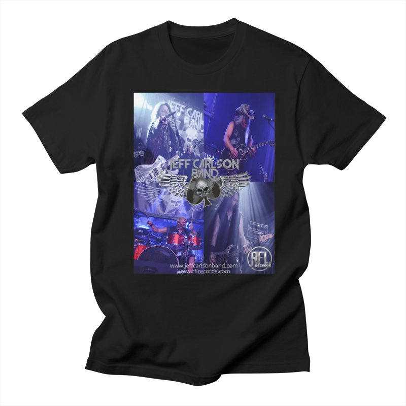 JCB Live Collage Men's T-Shirt by JeffCarlsonBand's Artist Shop