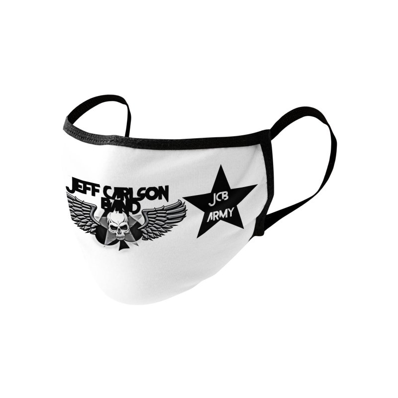 JCB ARMY Accessories Face Mask by JeffCarlsonBand's Artist Shop