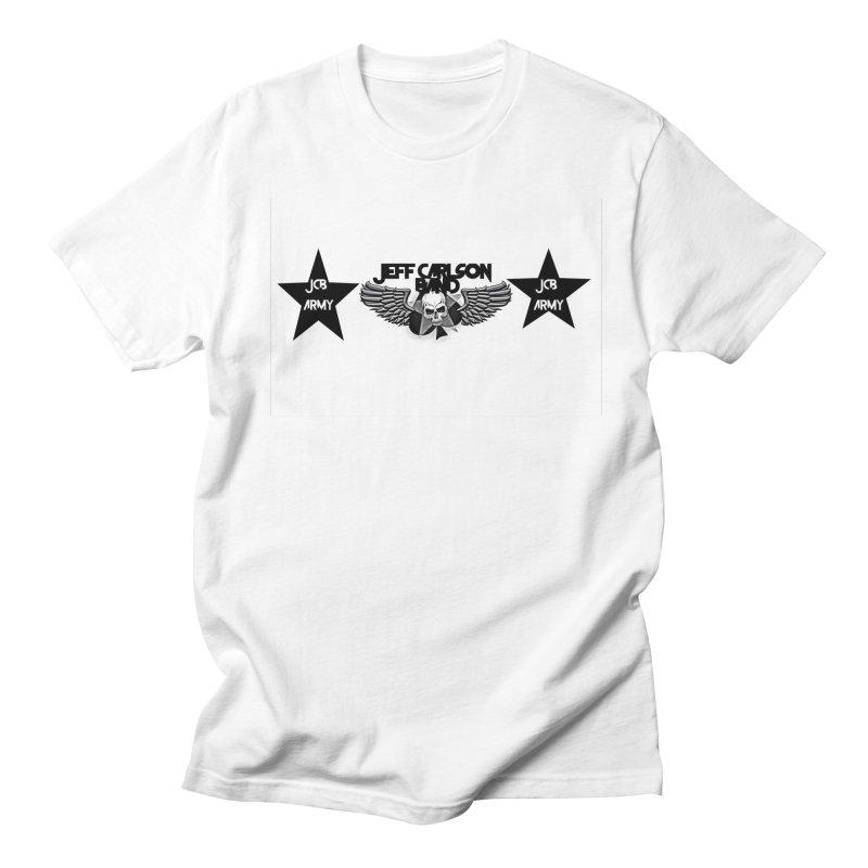 JCB ARMY Men's T-Shirt by JeffCarlsonBand's Artist Shop