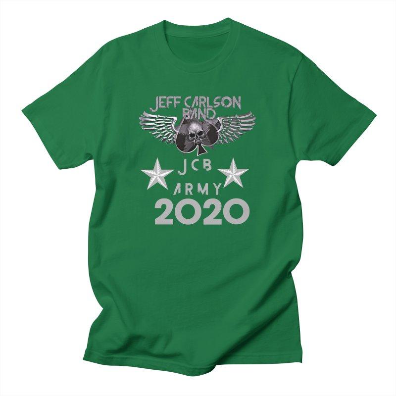 JCB ARMY 2020 Men's T-Shirt by JeffCarlsonBand's Artist Shop