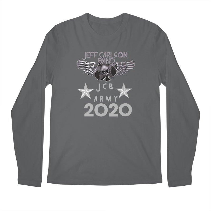 JCB ARMY 2020 Men's Longsleeve T-Shirt by JeffCarlsonBand's Artist Shop