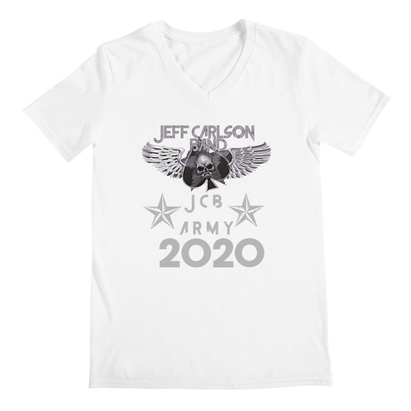 JCB ARMY 2020 Men's V-Neck by JeffCarlsonBand's Artist Shop