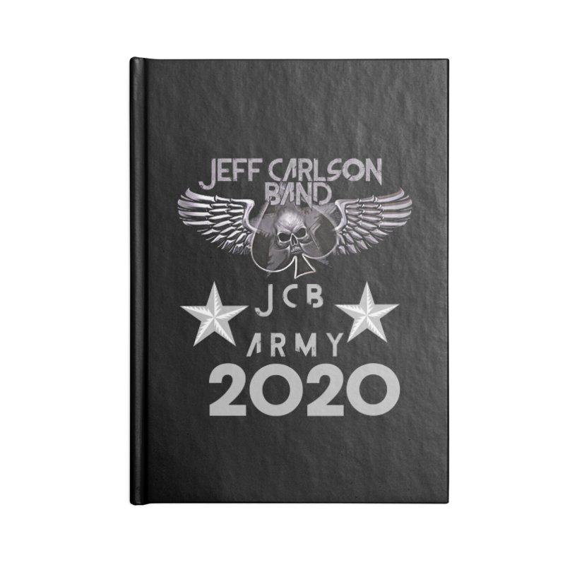 JCB ARMY 2020 Accessories Notebook by JeffCarlsonBand's Artist Shop