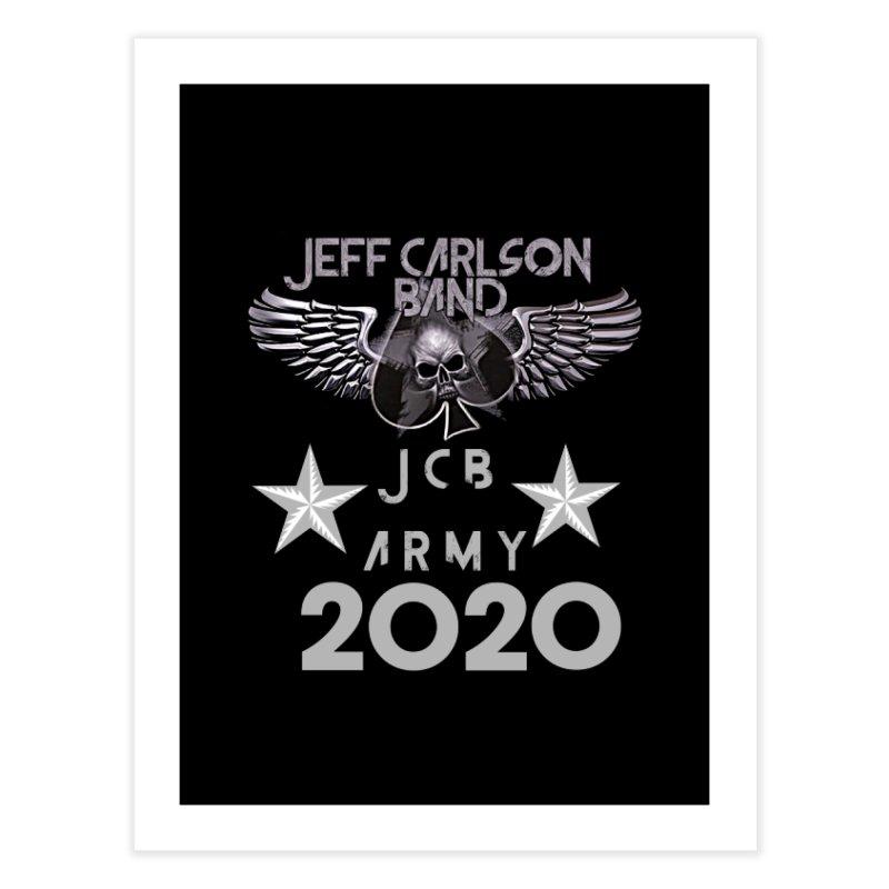 JCB ARMY 2020 Home Fine Art Print by JeffCarlsonBand's Artist Shop