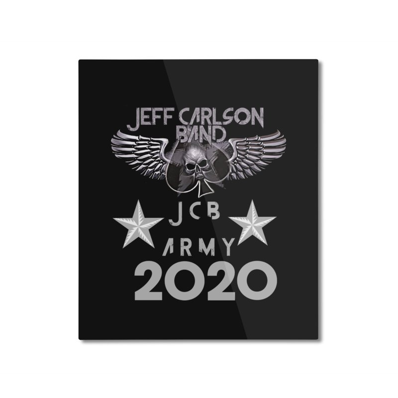 JCB ARMY 2020 Home Mounted Aluminum Print by JeffCarlsonBand's Artist Shop