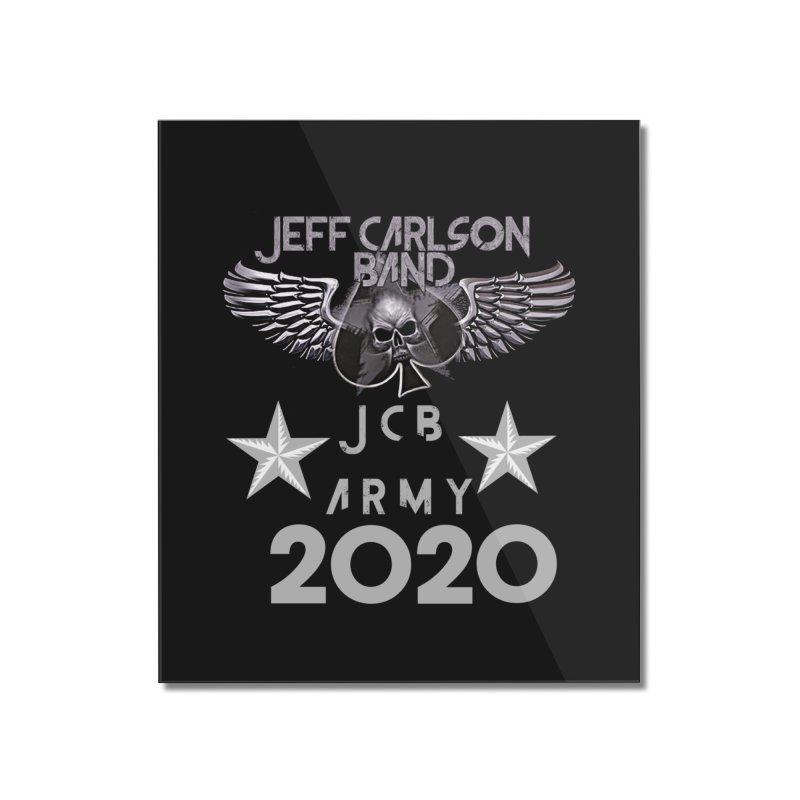 JCB ARMY 2020 Home Mounted Acrylic Print by JeffCarlsonBand's Artist Shop