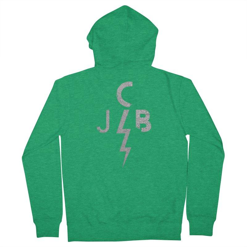 JCB Lightning Bolt Women's Zip-Up Hoody by JeffCarlsonBand's Artist Shop
