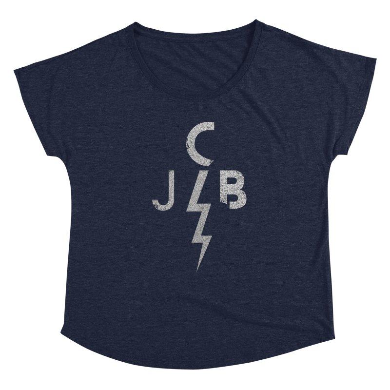 JCB Lightning Bolt Women's Scoop Neck by JeffCarlsonBand's Artist Shop