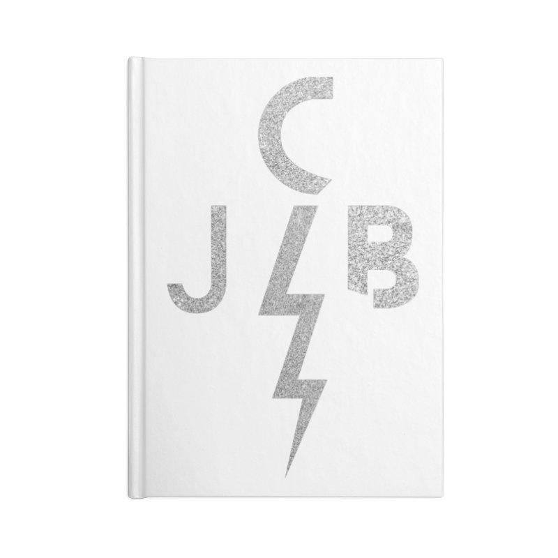 JCB Lightning Bolt Accessories Notebook by JeffCarlsonBand's Artist Shop