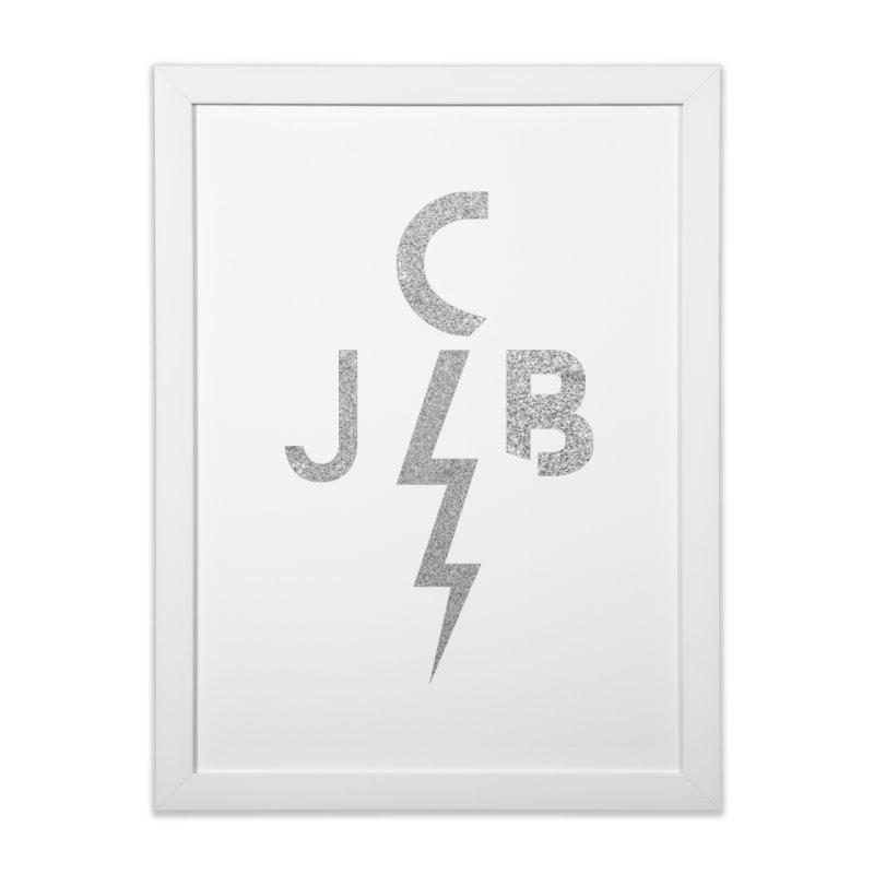 JCB Lightning Bolt Home Framed Fine Art Print by JeffCarlsonBand's Artist Shop