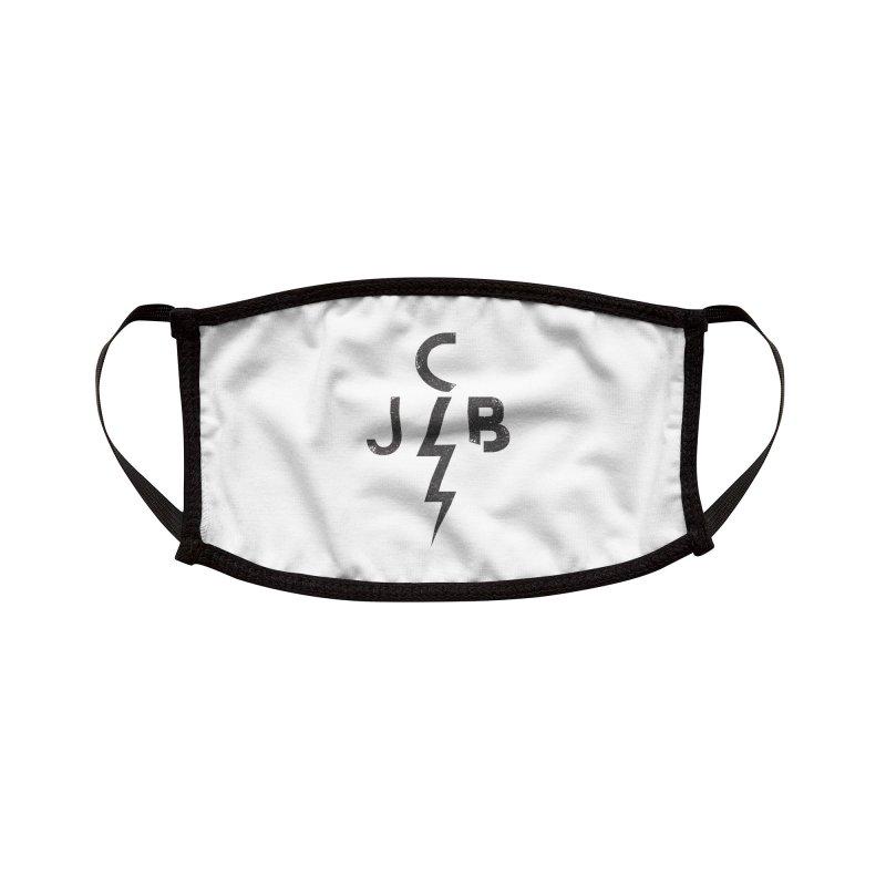 JCB Lightning Black Accessories Face Mask by JeffCarlsonBand's Artist Shop