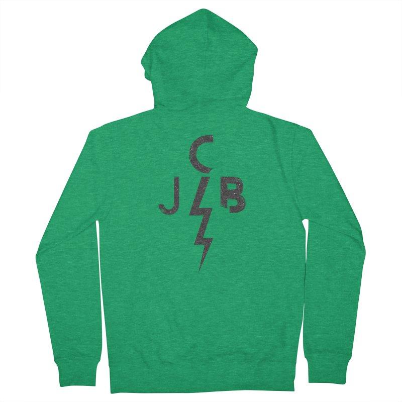 JCB Lightning Black Women's Zip-Up Hoody by JeffCarlsonBand's Artist Shop
