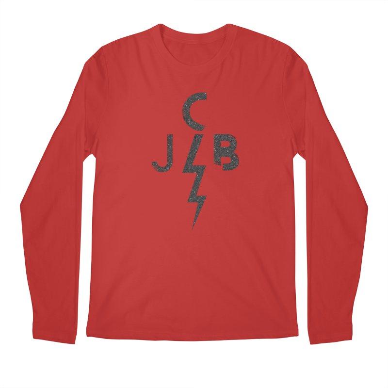 JCB Lightning Black Men's Longsleeve T-Shirt by JeffCarlsonBand's Artist Shop