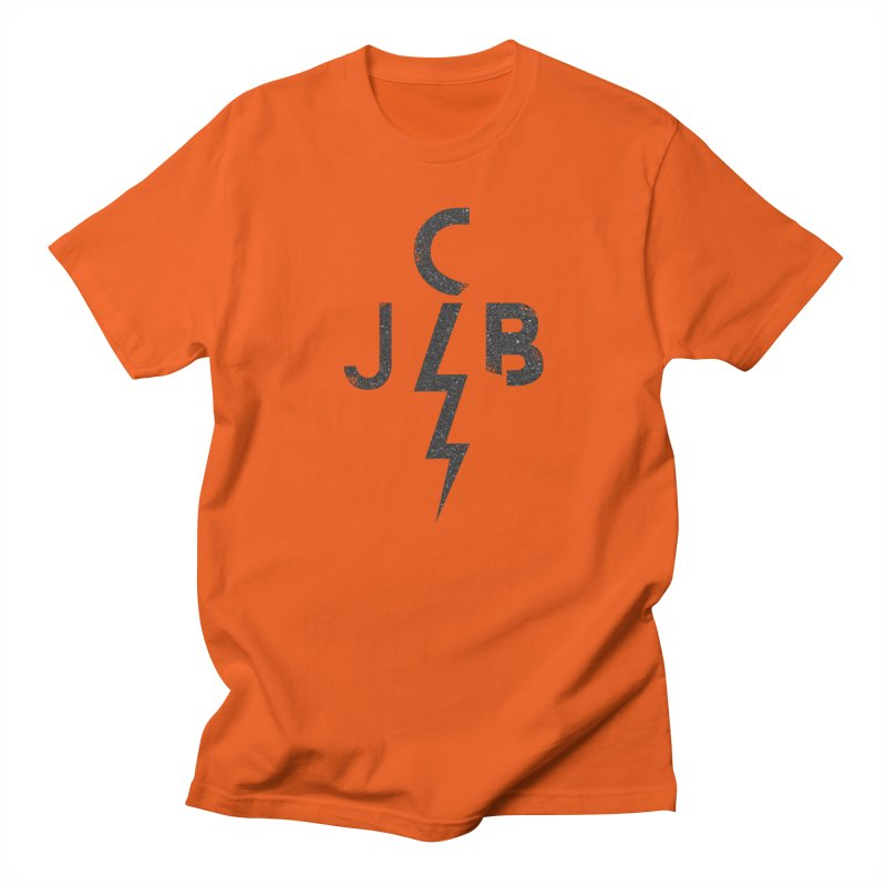 JCB Lightning Black Men's T-Shirt by JeffCarlsonBand's Artist Shop